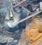 Fotografia Aerea de una mina